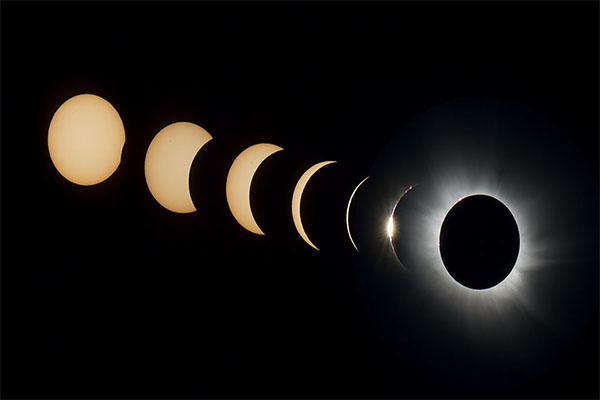 สุริยุปราคาเต็มดวง (total eclipse)